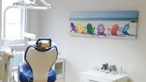 Photo de la Salle de soins du Dr PONCIN, orthodontiste à ROLLE
